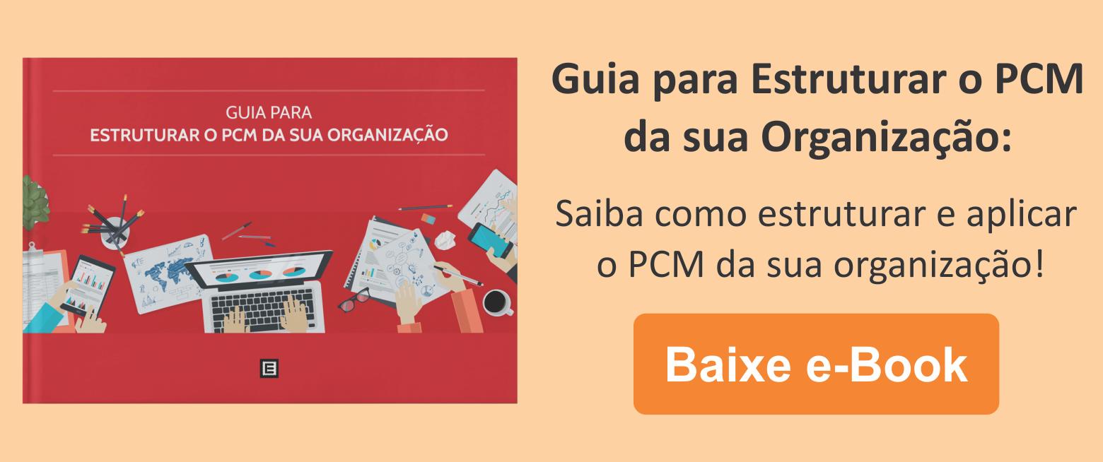 Guia: Saiba como estruturar e aplicar o PCM da sua organização!