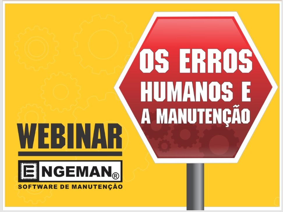 erros humanos - Webinars
